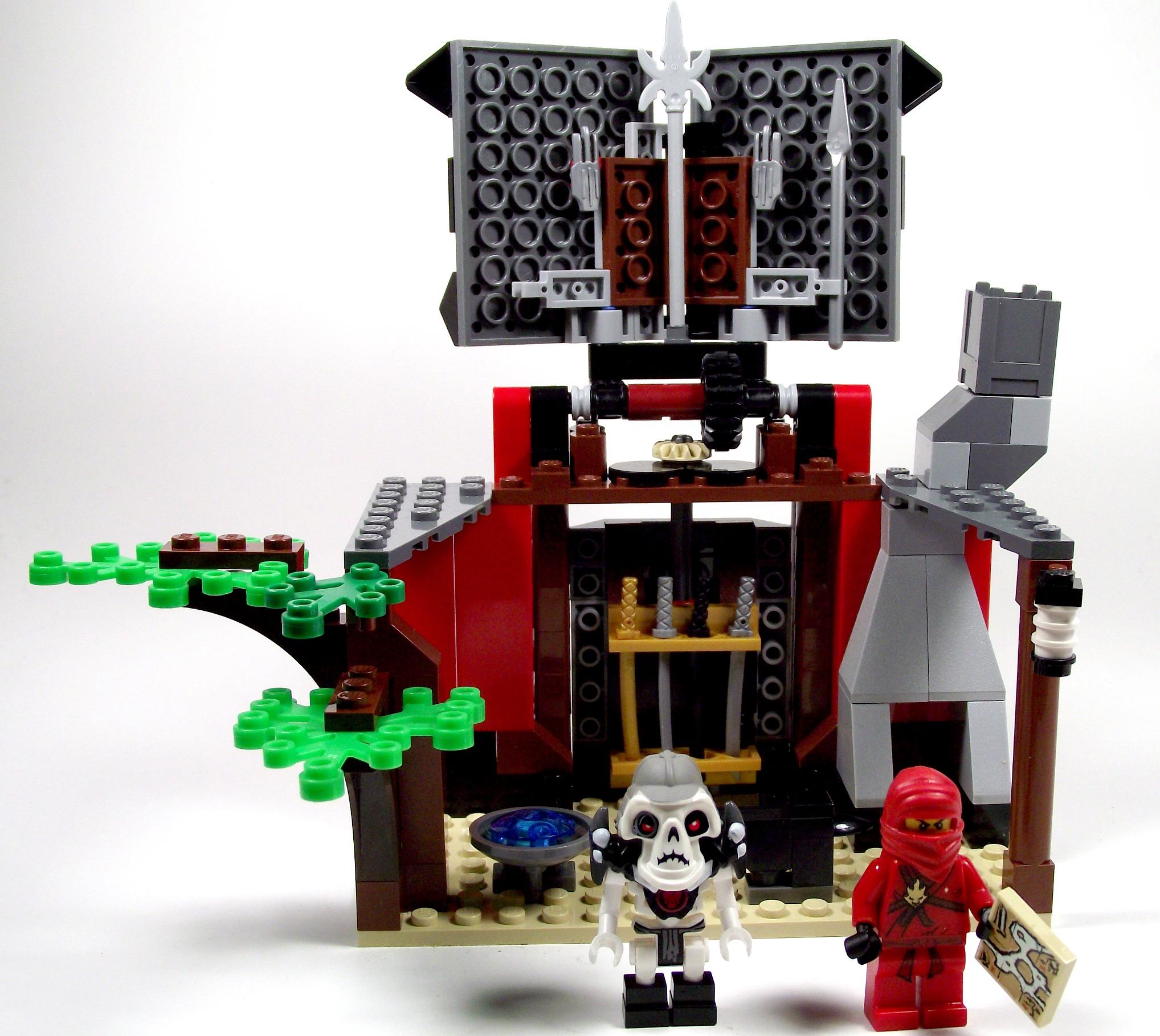 2508 Lego Ninjago Blacksmith's shop   Bricks N More
